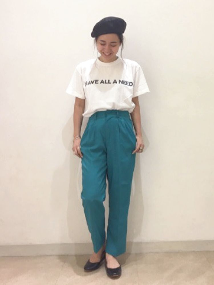 Ungrid(アングリッド) |I HAVE ALL A NEED Tee コーデ03